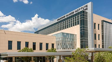 Urology Clinic at Moncrief Cancer Center building in daytime