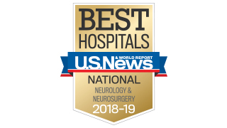 Neurology 2018 US News Ranking 320x180
