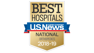 Orthopaedics 2018 US News Ranking 320x180