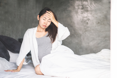 pregnant depression and fatigue