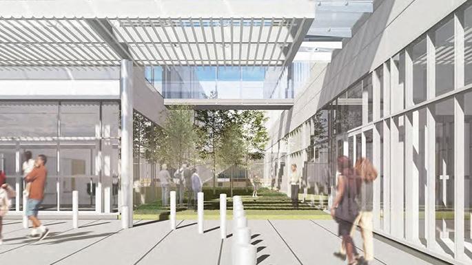 RedBird Mall location rendering