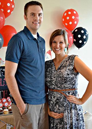 Scott and Caroline Burchett