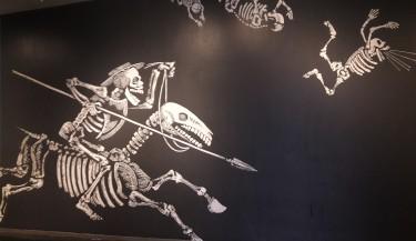 Don Quixote mural, Bellevue Arts Museum