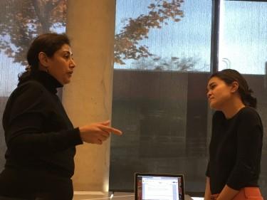 Meena teaches grant writing