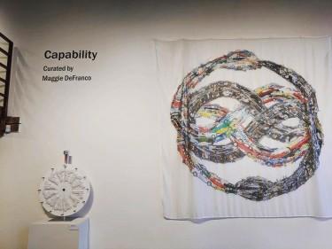 """Capability"" at Kirkland Art Center."