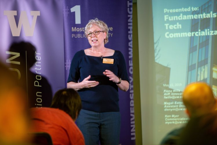 Fundamentals for Startups Friday takes place in Fluke Hall and features entrepreneurial experts from around the region on a variety of topics.