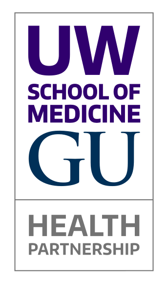 UW School of Medicine - GU Health Partnership logo