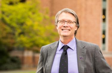 Provost Mark Richards 2018 portrait