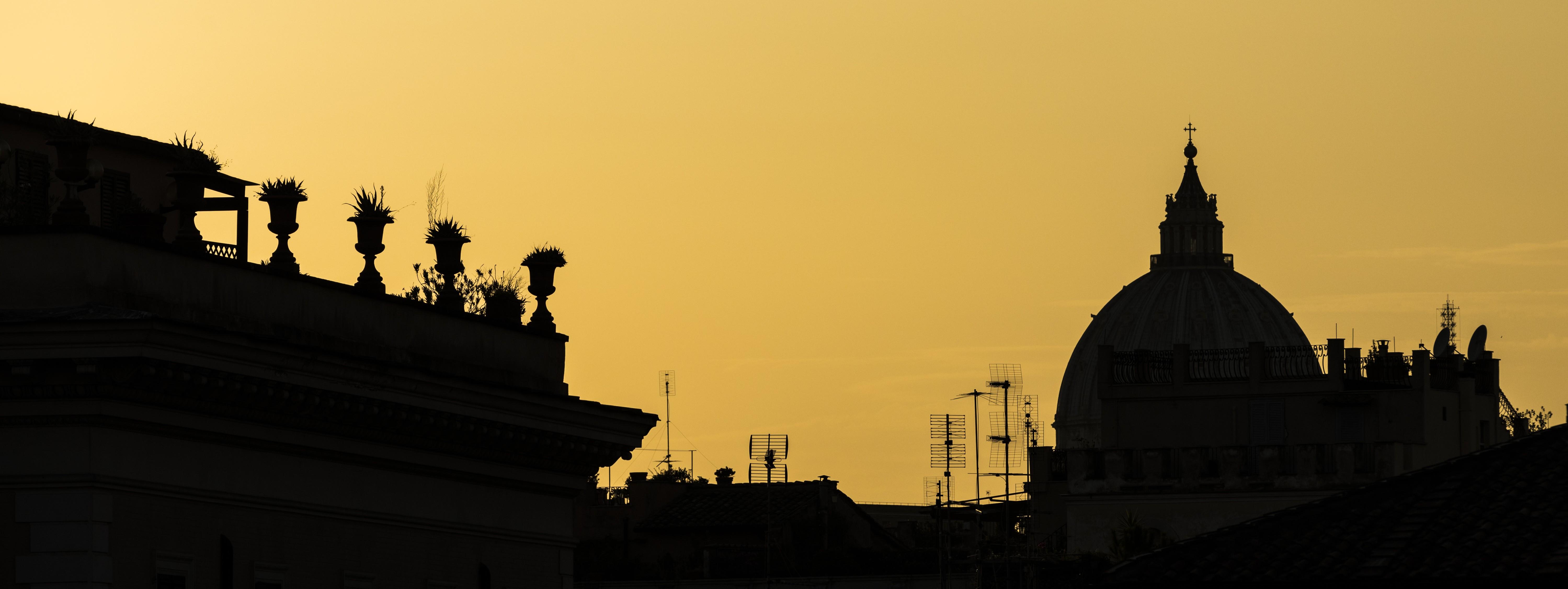 Palazzo Pio sunset