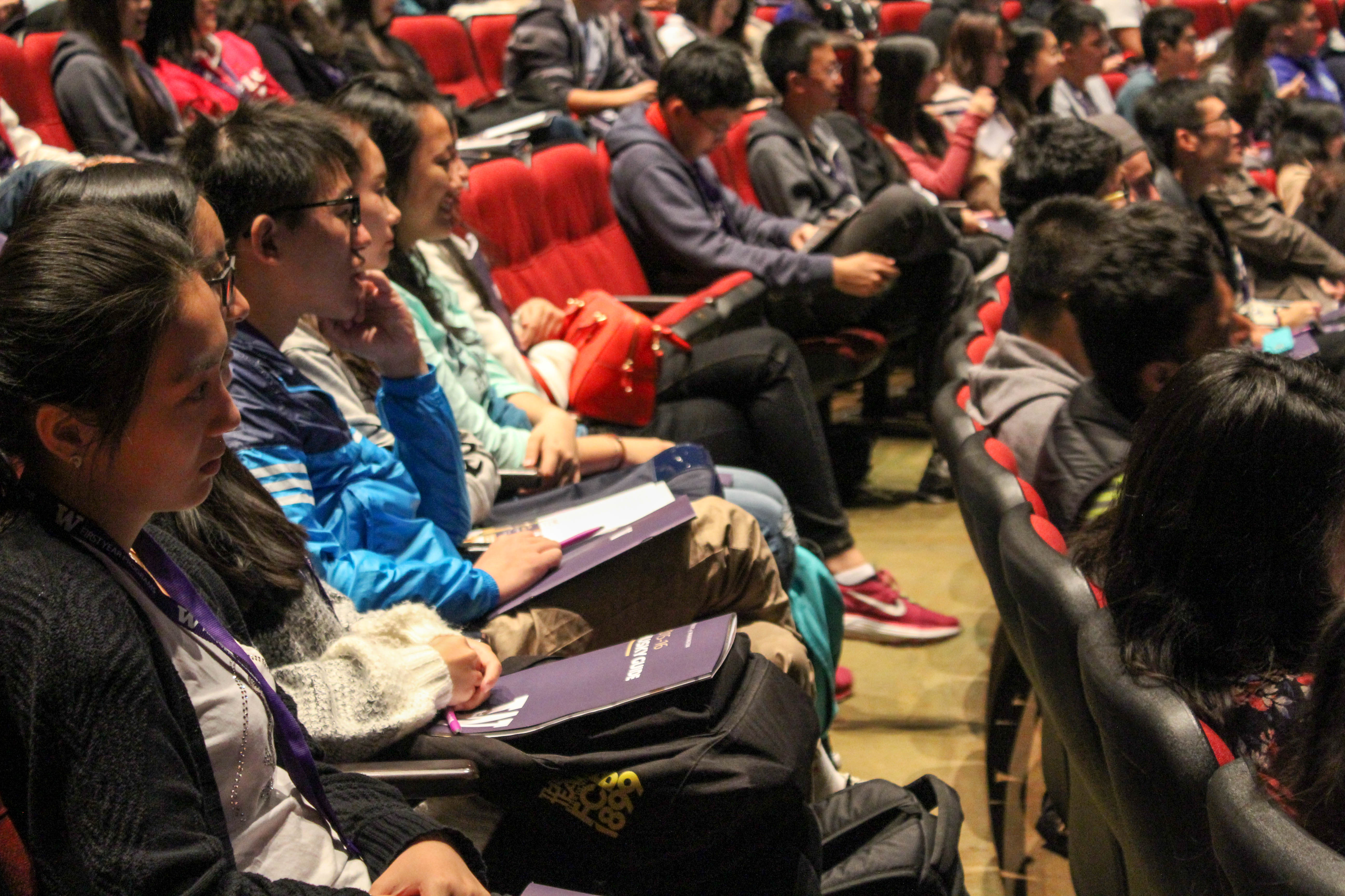 Group of students at international orientation