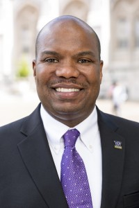 Rickey Hall, vice president for Minority Affairs & Diversity and chief diversity officer