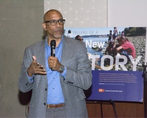 Pedro Noguera, professor of Education at UCLA, discussed strategies for equitable student achievement at Kane Hall on Jan.10, 2017. Photo: University Marketing & Communications.