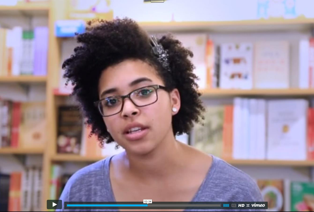 Saige Hawthorne, drama and sociology major, discusses student resources in this U101 orientation video.