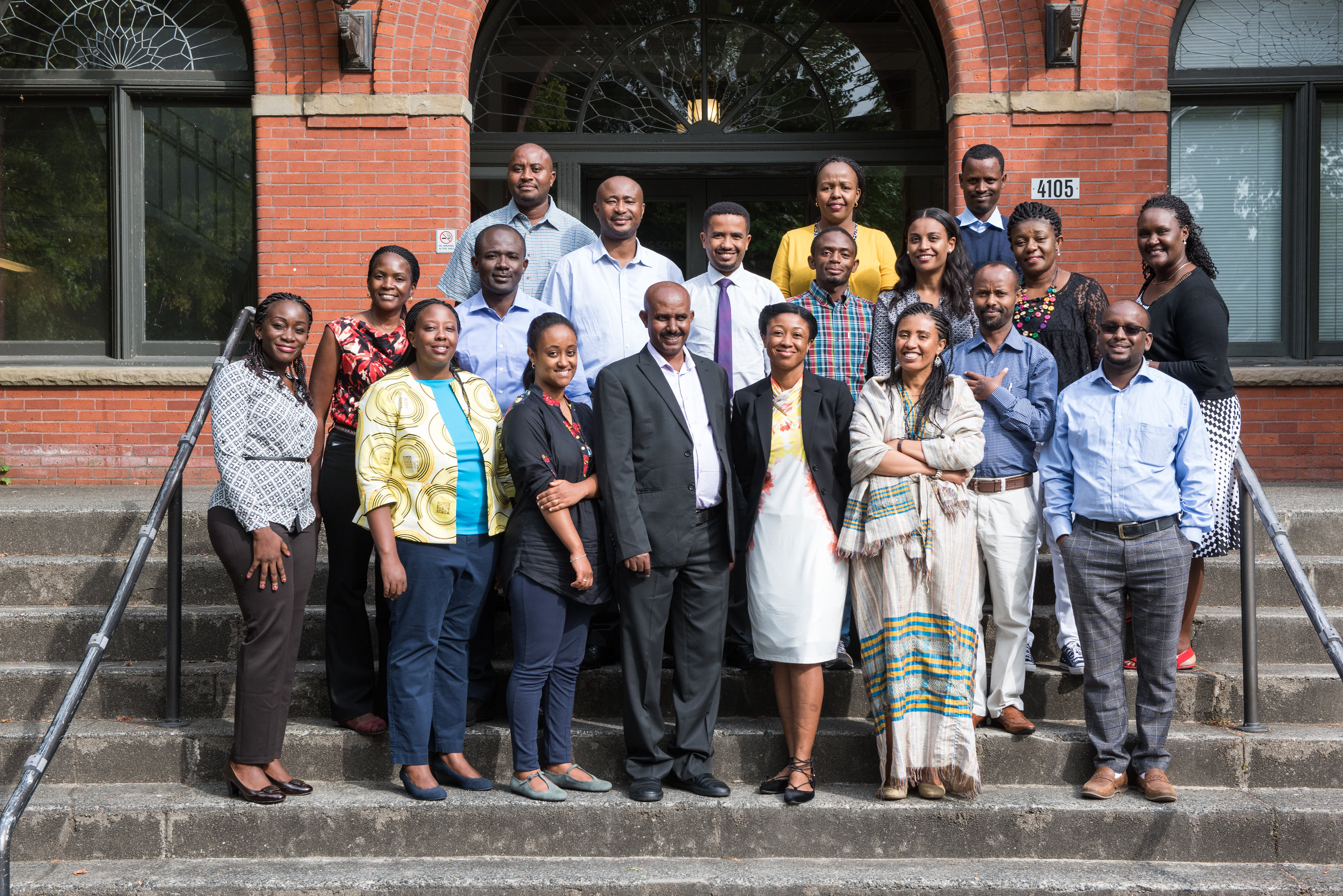 Health professionals from six African countries participated in a pilot long-distance learning program at the Evans School.