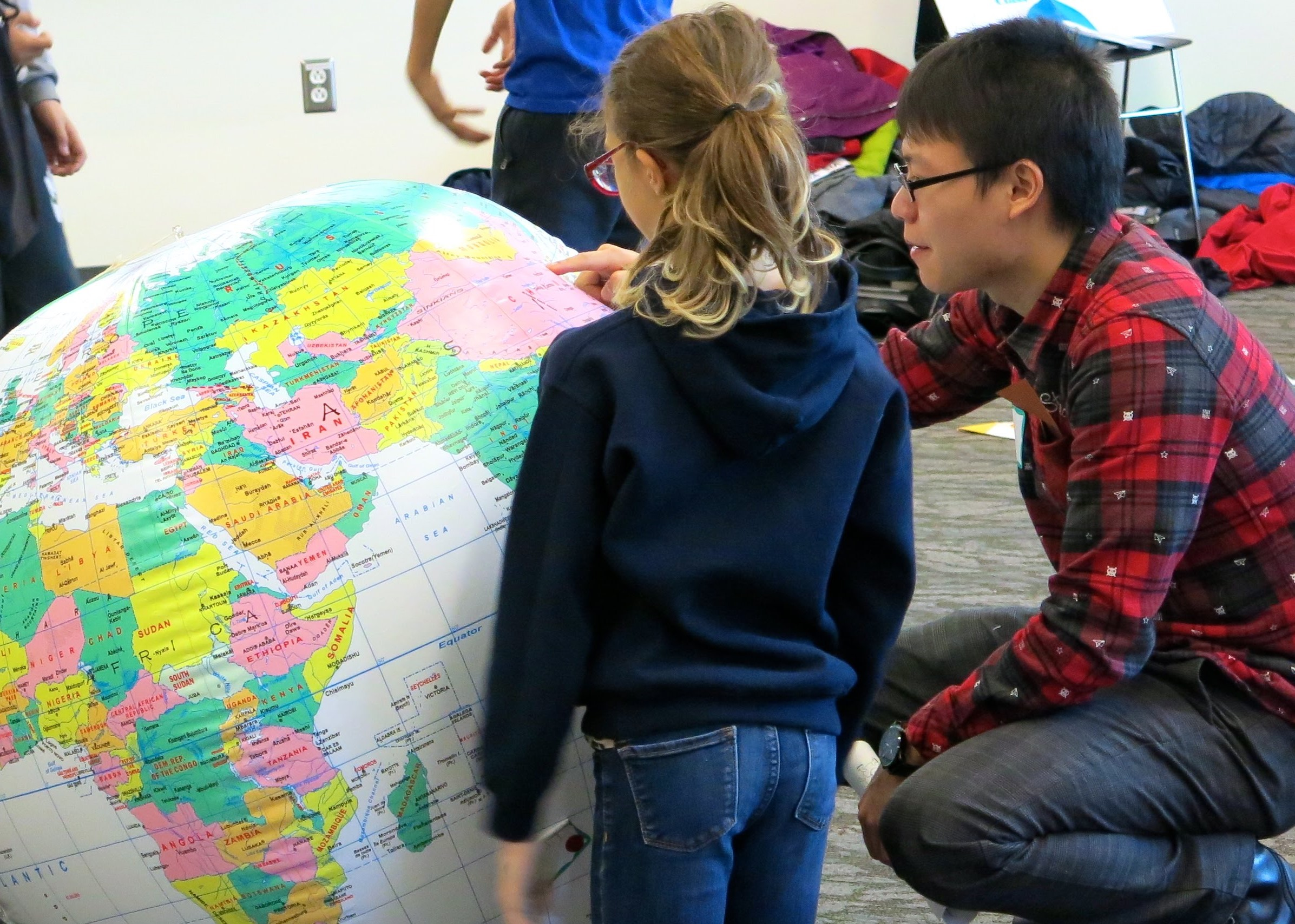 FIUTS's wide range of Educational Programs include several that offer UW students hands-on experience in K-12 classrooms. Photo courtesy of FIUTS.