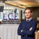 Eldridge portrait with ECE in the background