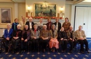 Past presidents Luncheon October 27, 2015 at the Seattle Yacht club, spanning the last 20 or so years