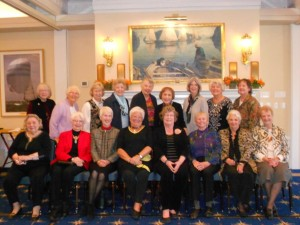 UWFA Past Presidents At Luncheon October 2016: Welcomed President Nancy Kenagy and Thanked the two-term Past President Dagmar Shannon.