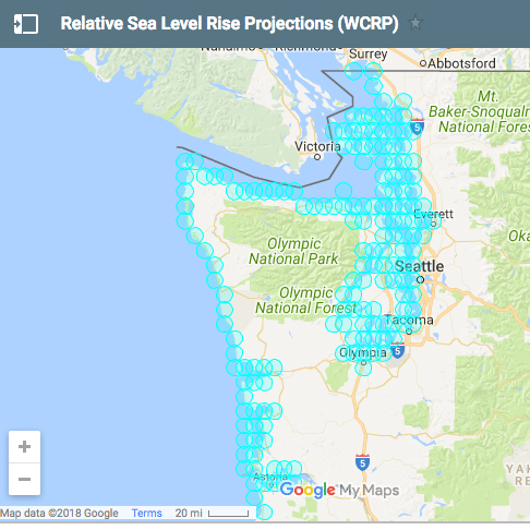 New Report Projects Sea Level Changes For Washington State