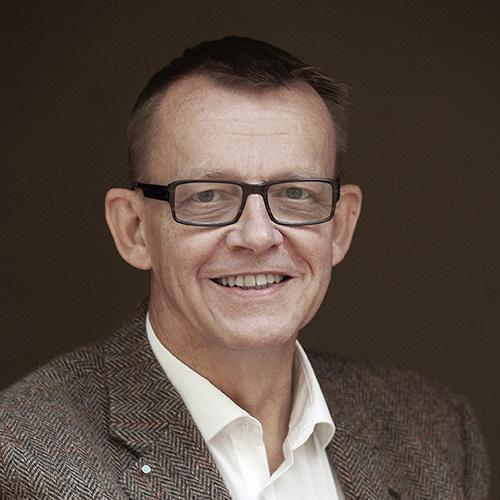 Image of Hans Rosling by Jörgen Hildebrandt