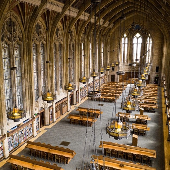 Image of Suzzallo Library's reading room