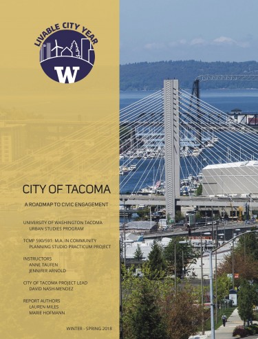 Civic Engagement report cover
