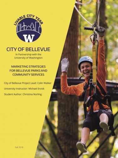 Marketing Strategies for Bellevue Parks and Community Services report cover