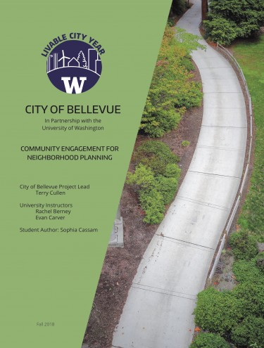 Community Engagement for Neighborhood Planning report cover