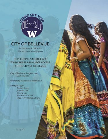 Developing a Mobile App to Increase Language Access at the City of Bellevue report cover
