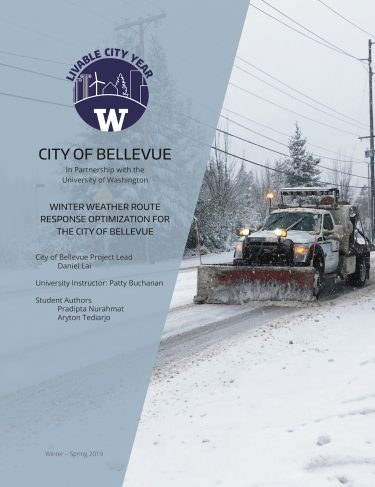 Winter Route Response report cover