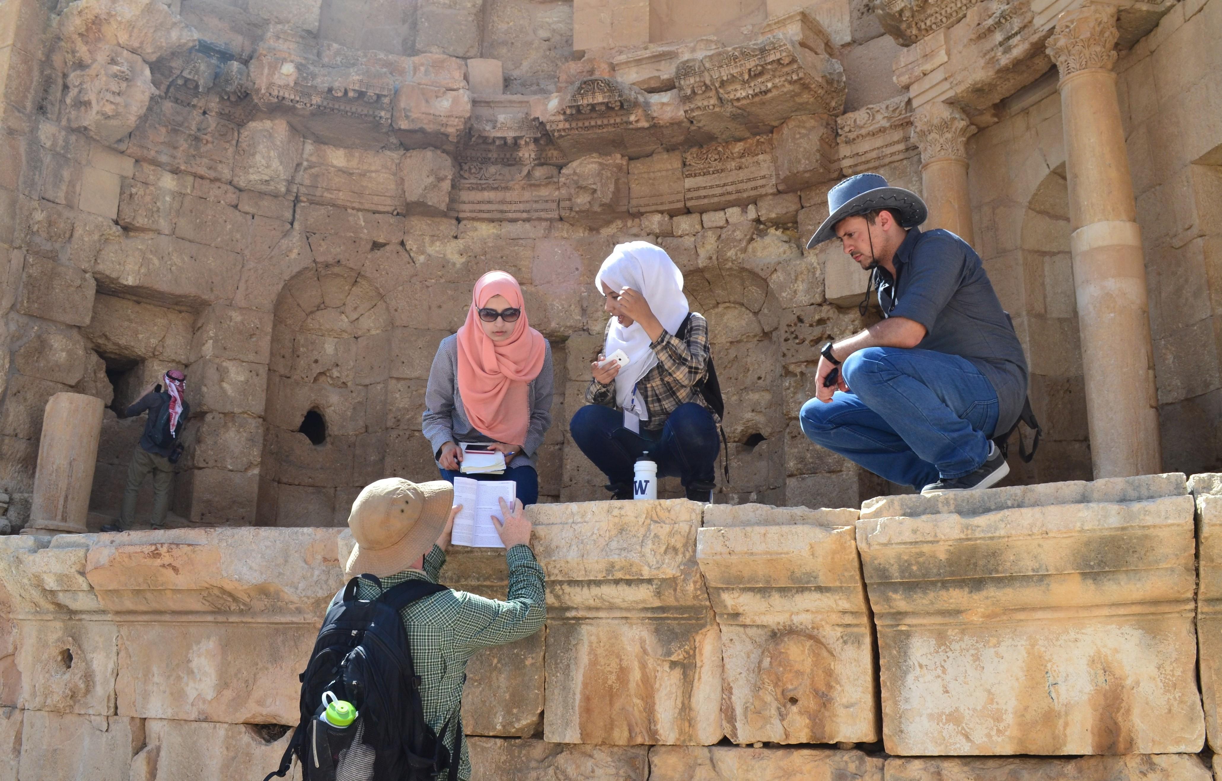 Engineering students in Jordan