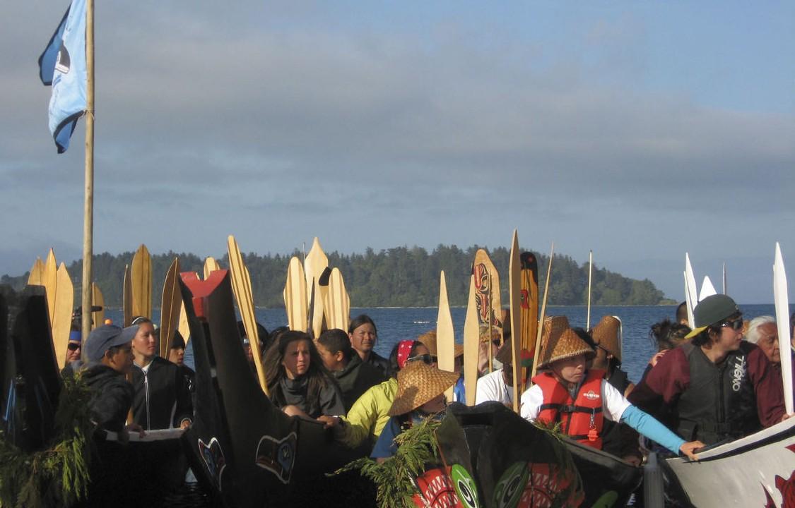 Canoe Journeys program