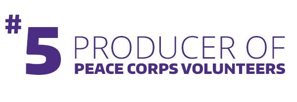 No. 5 Peace Corps Volunteers