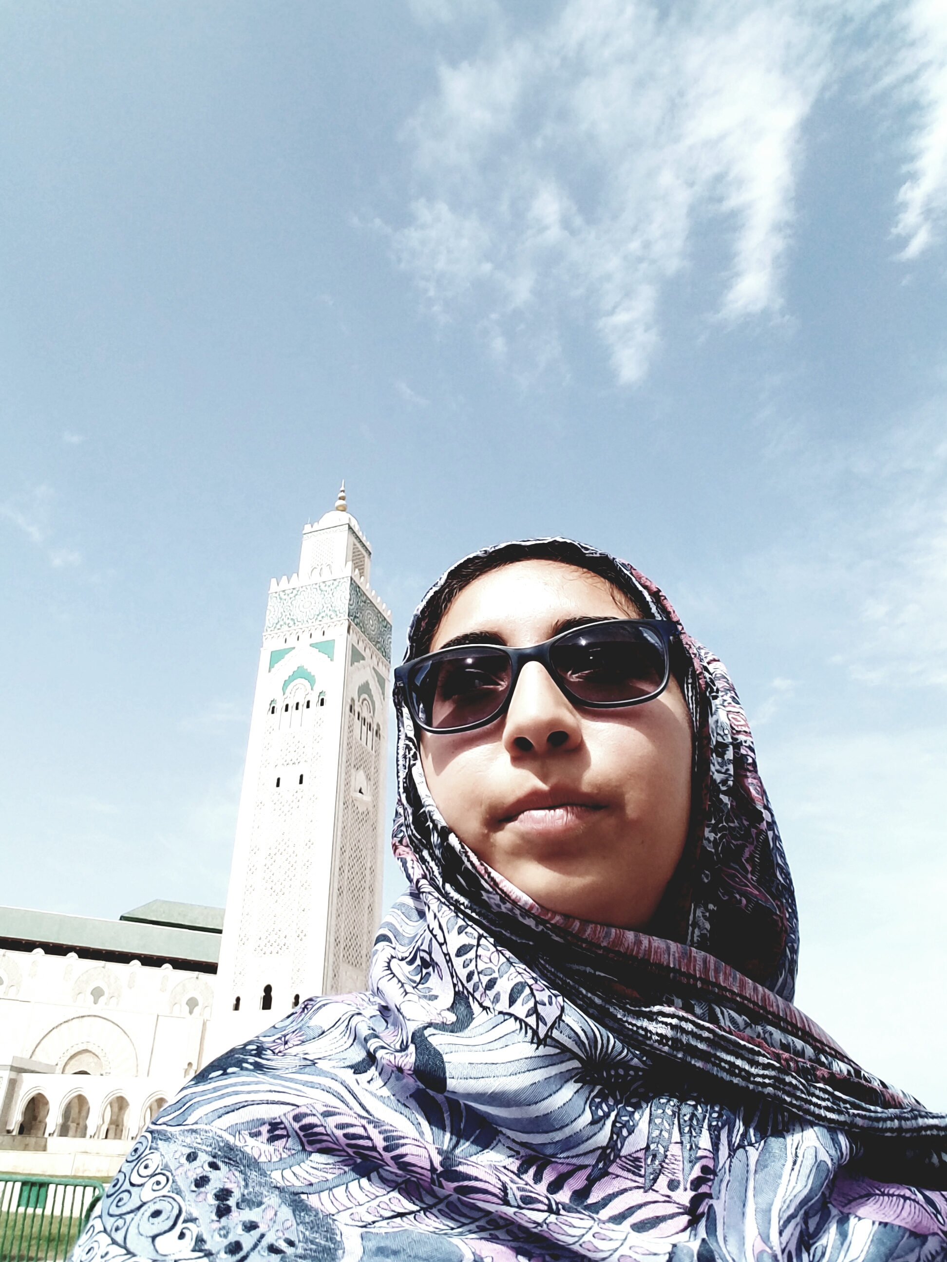 Yesenia Velasquez in Morocco