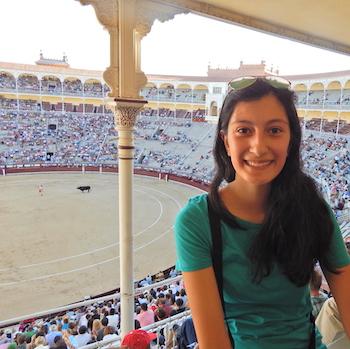 Erika in Spain