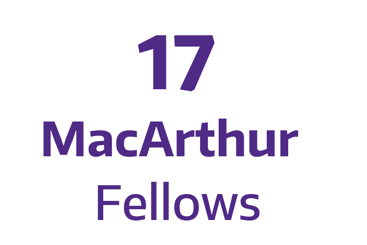 16 MacArthur Fellows
