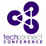 UW TechConnect Conference logo of 3 circles joined by 3 lines.