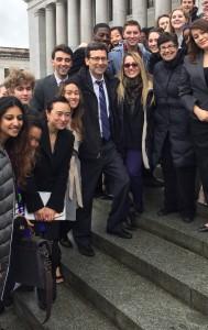 Ana Mari with Bob and Students 2-7-17