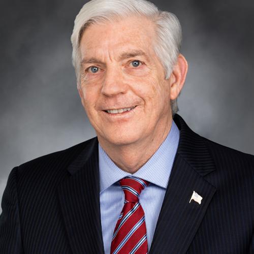 Representative Bruce Chandler (R),