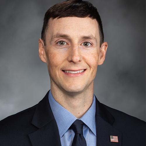Representative Jeremie Dufault (R),