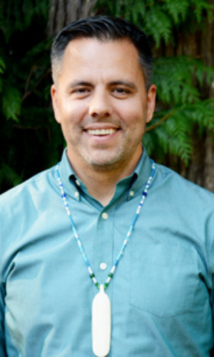 Chairman Kristopher Peters, Squaxin Island Tribe