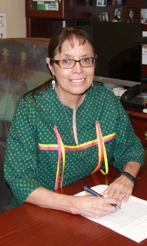 Chairwoman Carol Evans, Spokane Tribe of Indians