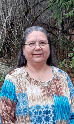 Chairwoman Frances Charles, Lower Elwha Klallam Tribe
