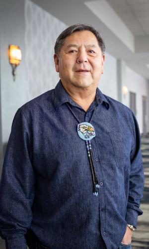 Chairman Glen Nenema, Kalispel Tribe of Indians