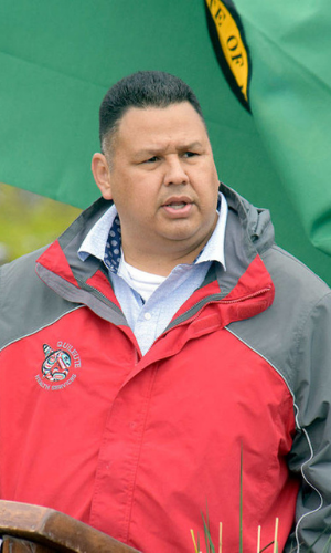 Chairman Douglas Woodruff Jr., Quileute Tribe