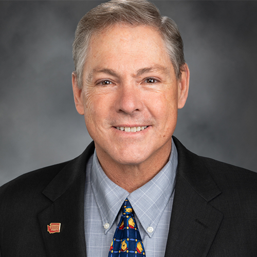 Representative Bob McCaslin (R),