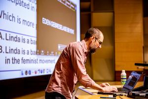 Ian Schnee in Virtual Classroom