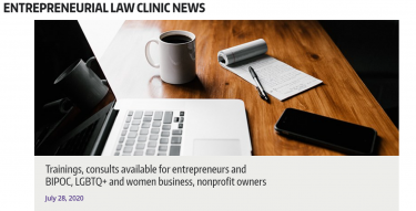 Law Clinic page
