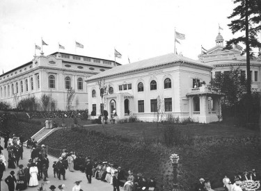Cunningham Hall in Seattle  In 1909