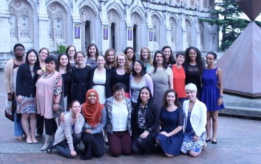Participants of The Alene Moris National Education for Women's (NEW) Leadership program